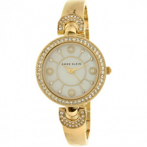 imagine 0 Ceas de Dama Anne Klein AK-1960GBST Auriu Metal Analog Quartz areak-1960gbst