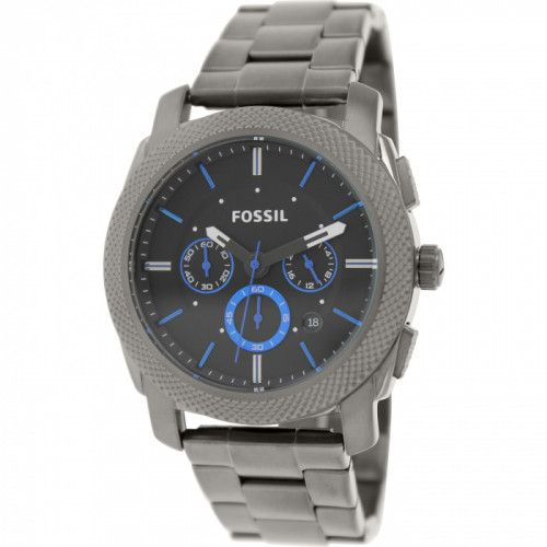 imagine 0 Ceas Fossil barbatesc Machine FS4931 gri Stainless-Steel Quartz arefs4931
