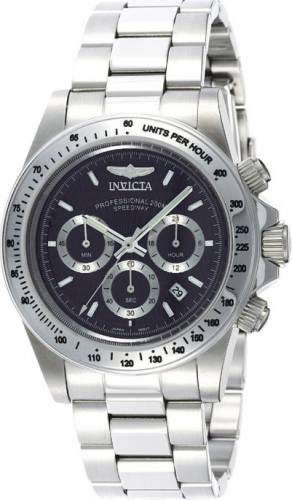 imagine 0 Ceas Invicta barbatesc Speedway Chronograph 9223 negru Stainless-Steel Quartz are9223