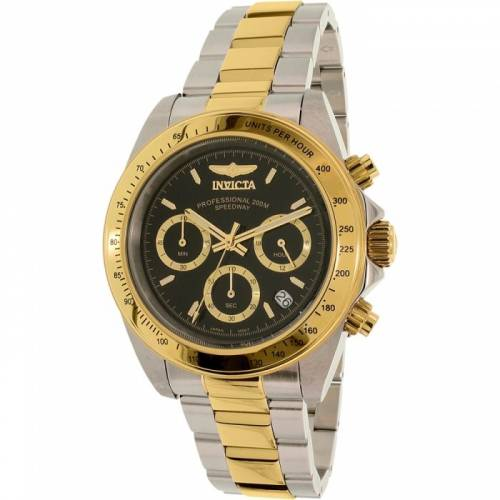 imagine 0 Ceas Invicta barbatesc Speedway Chronograph G 9224 negru Two-tone Stainless-Steel Quartz are9224