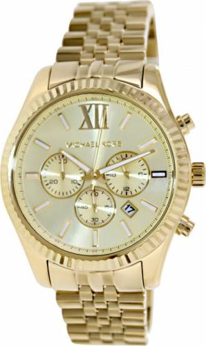 imagine 0 Ceas Michael Kors barbatesc Lexington MK8281 auriu Stainless-Steel Quartz aremk8281