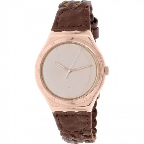 imagine 0 Ceas Swatch barbatesc YWG402 maro Quartz areywg402