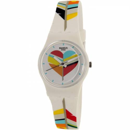 imagine 0 Ceas Swatch dama Es War Zeimal LW151 multicolor Rubber Quartz arelw151