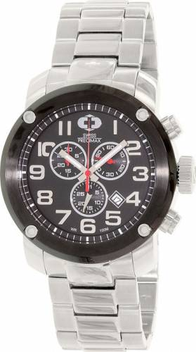 imagine 0 Ceas Swiss Precimax barbatesc Marauder Pro SP13012 argintiu Quartz aresp13012