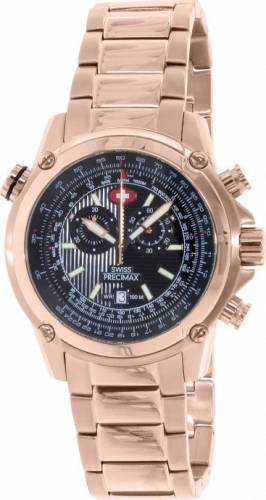 imagine 0 Ceas Swiss Precimax barbatesc Squadron Pro SP13079 auriu Quartz aresp13079