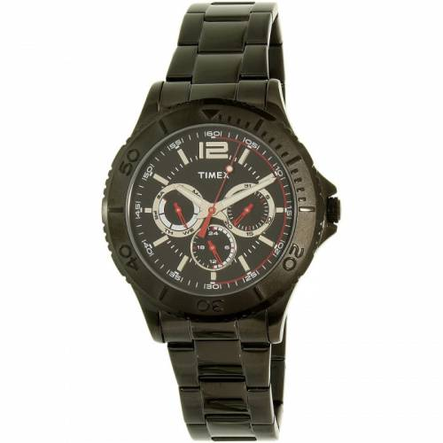 imagine 0 Ceas Timex barbatesc TW2P87700 negru Stainless-Steel Quartz aretw2p87700