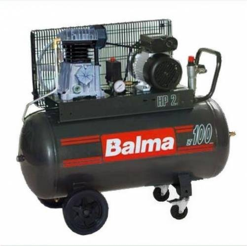 imagine 0 Compresor cu piston Balma NS12S100 CM3 2200W 320lmin 100l 10bar monofazat NS12S/100 CM3