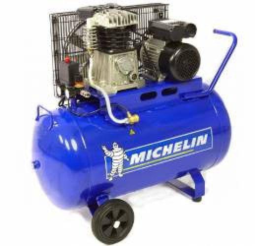 imagine 0 Compresor de aer monofazat profesional MICHELIN MB50-268 rezervor 50l 250 lmin 1 5kW mb50/268