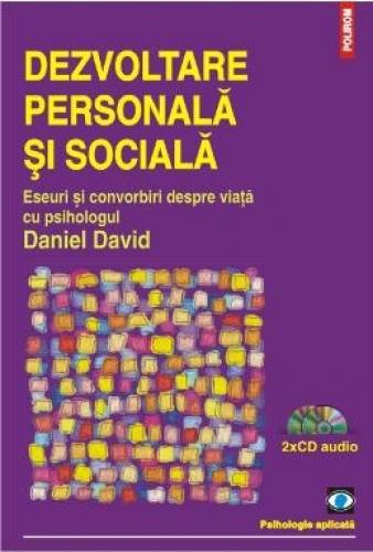 imagine 0 Dezvoltare Personala Si Sociala - Daniel David + 2 Cd 978-973-46-4492-6