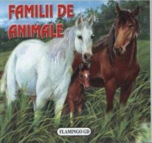 imagine 0 Familii de animale - Pliant 978-973-7949-91-2