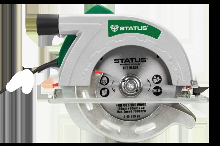 imagine 0 Fierastrau circular Status CP190C 1400 W 5000 RPM 65 mm cp190c