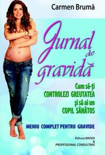imagine 0 Jurnal de gravida - Carmen Bruma 978-973-1722-12-2