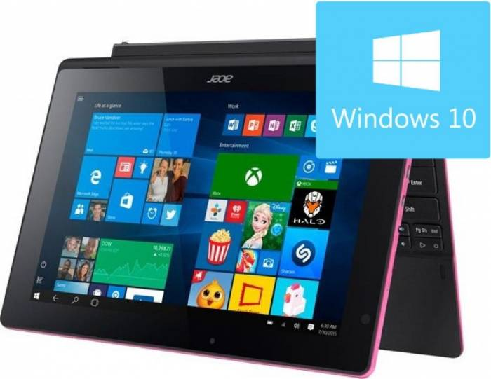 pret preturi Laptop 2in1 Acer Switch SW3-016 Intel Atom x5-Z8300 500GB + 64GB 4GB Win10 WXGA IPS