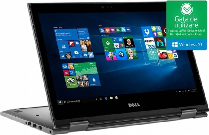 pret preturi Laptop 2in1 Dell Inspiron 5578 Intel Core Kaby Lake i5-7200U 1TB 8GB Win10 FullHD