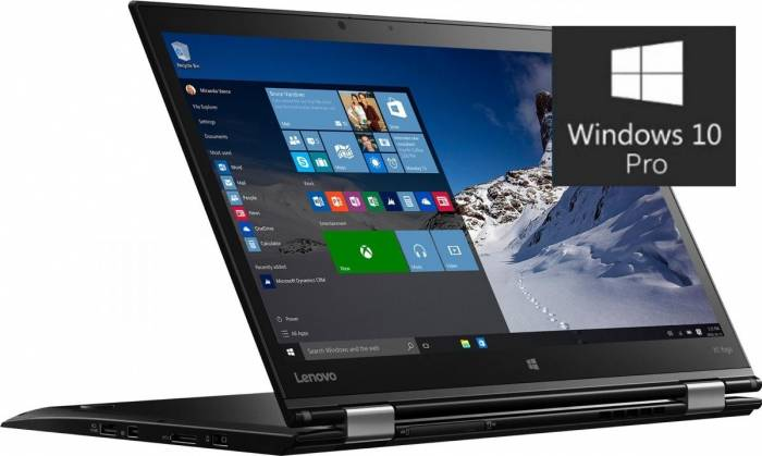 pret preturi Laptop 2in1 Lenovo ThinkPad X1 Yoga Intel Core Skylake i5-6200U 256GB 8GB Win10 Pro WQHD IPS Fingerprint Touch