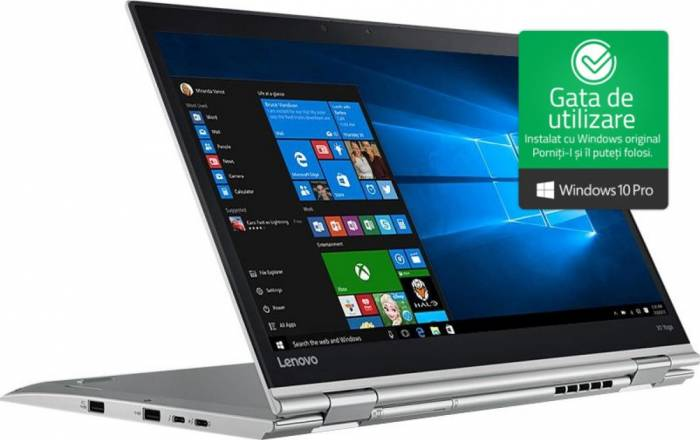 pret preturi Laptop 2in1 Lenovo X1 Yoga Gen 2 Intel Core Kaby Lake i7-7600U 512GB 16GB Win10 Pro WQHD FPR