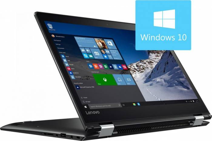 imagine 0 Laptop 2in1 Lenovo Yoga 510-14IKB Intel Core Kaby Lake i7-7500U 256GB 8GB Win10 FHD IPS Touch 80vb0048ri
