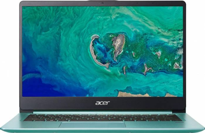 imagine 0 Laptop Acer Swift 1 SF114-32 Intel Pentium Gemini Lake N5000 128GB 4GB FullHD Tastatura iluminata Verde nx.gzgex.003