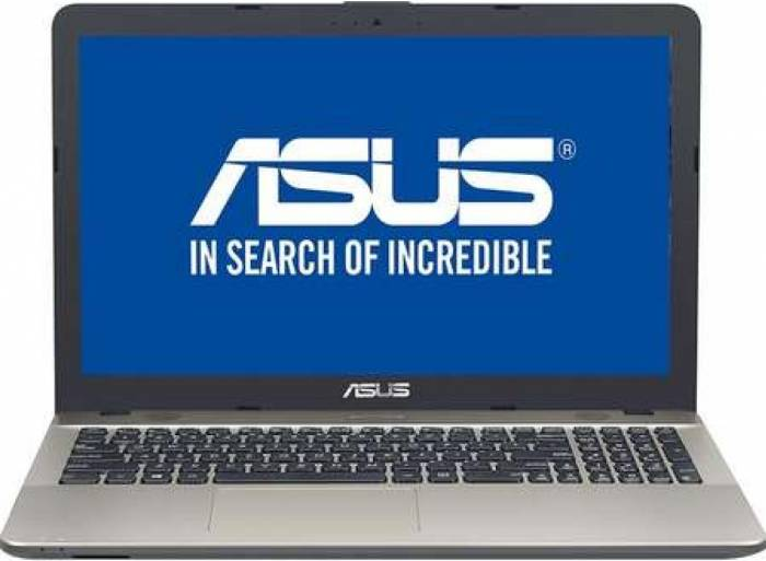 pret preturi Laptop Asus VivoBook Max X541NA-GO120 Intel Celeron N3350 pana la 2.4Ghz 500GB 4GB HD Chocolate Black