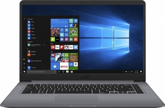 imagine 4 Ultrabook Asus VivoBook S510UA Intel Core Kaby Lake R (8th Gen) i5-8250U 500GB 4GB Win10 Pro FullHD Gri FPR S510UA-BQ623R