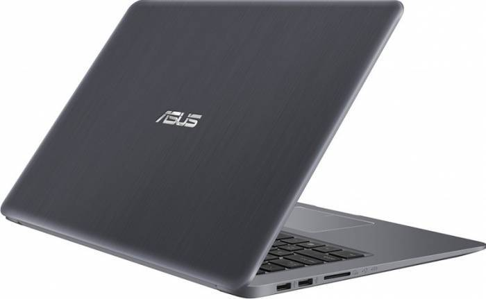 imagine 5 Ultrabook Asus VivoBook S510UA Intel Core Kaby Lake R (8th Gen) i5-8250U 500GB 4GB Win10 Pro FullHD Gri FPR S510UA-BQ623R