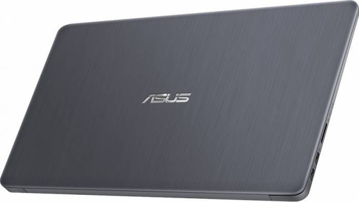 imagine 8 Ultrabook Asus VivoBook S510UA Intel Core Kaby Lake R (8th Gen) i5-8250U 500GB 4GB Win10 Pro FullHD Gri FPR S510UA-BQ623R