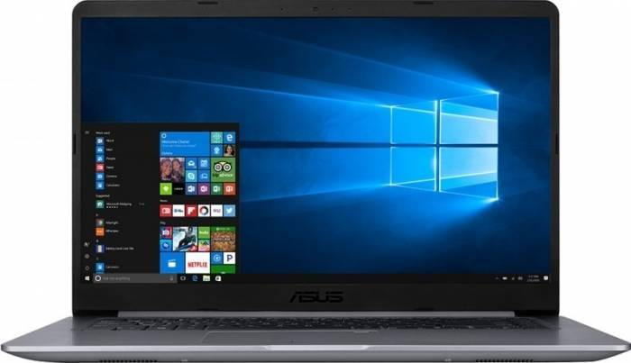imagine 9 Ultrabook Asus VivoBook S510UA Intel Core Kaby Lake R (8th Gen) i5-8250U 500GB 4GB Win10 Pro FullHD Gri FPR S510UA-BQ623R