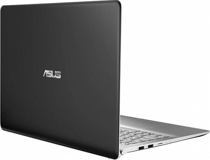 imagine 4 Ultrabook Asus VivoBook S15 Intel Core Kaby Lake R (8th Gen) i5-8250U 256GB SSD 8GB nVidia GeForce MX130 2GB FHD FPR Tast. il. Gun Metal S530UF-BQ028