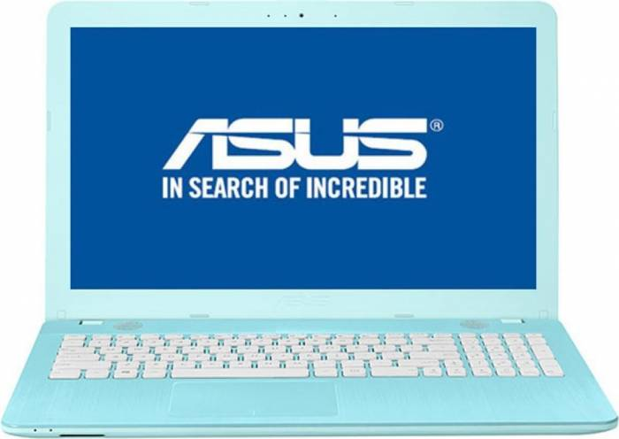 imagine 0 Laptop Asus VivoBook Max X541UA Intel Core Kaby Lake i3-7100U 500GB 4GB Endless HD Albastru x541ua-go1710