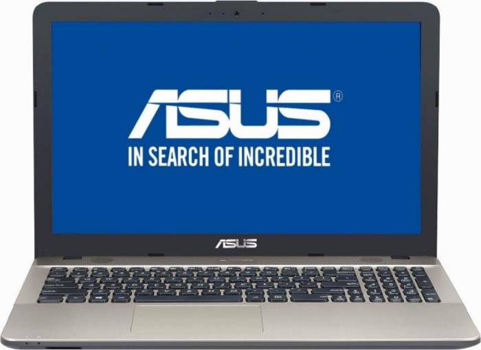 imagine 0 Laptop Asus VivoBook Max X541UA Intel Core Kaby Lake i3-7100U 500GB HDD 4GB Endless Negru x541ua-go1373