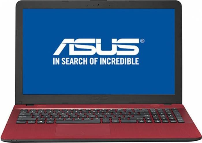 imagine 0 Laptop Asus VivoBook Max X541UA Intel Core Kaby Lake i3-7100U 500GB 4GB HD Endless Rosu x541ua-go1709