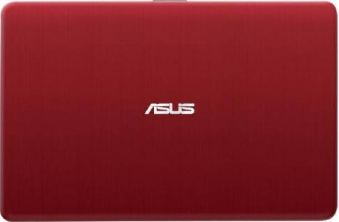 imagine 2 Laptop Asus X541NA Intel Celeron N3350 500GB 4GB HD Red Endless x541na-go009