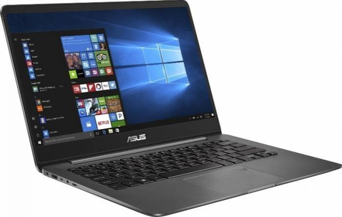 imagine 2 Ultrabook Asus ZenBook UX430UA Intel Core Kaby Lake R (8th Gen) i7-8550U 256GB SSD 16GB Win10 Pro FullHD Tastatura ilum. ux430ua-gv502r