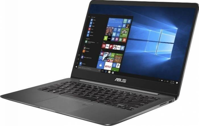 imagine 3 Ultrabook Asus ZenBook UX430UA Intel Core Kaby Lake R (8th Gen) i7-8550U 256GB SSD 16GB Win10 Pro FullHD Tastatura ilum. ux430ua-gv502r