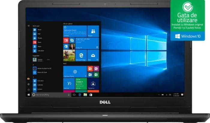 imagine 0 Laptop Dell Inspiron 3576 Intel Core Kaby Lake R (8th Gen) i5-8250U 256GB SSD 8GB AMD Radeon 520 2GB Win10 FullHD di3576fi58250u8g256g2gw2yr-05
