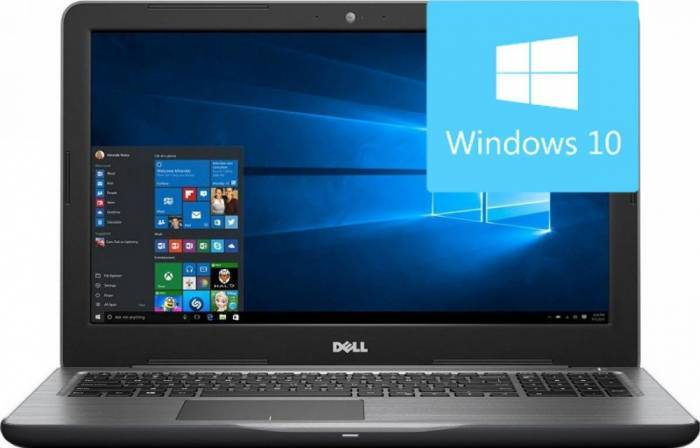 imagine 0 Laptop Dell Inspiron 5567 Intel Core Kaby Lake i5-7200U 256GB 8GB AMD Radeon R7 M445 4GB Win10 FullHD di5567i58256m445w1