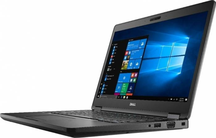 imagine 1 Laptop Dell Latitude 5480 Intel Core Kaby Lake i5-7200U 500GB 4GB Win10 Pro Tastatura iluminata 1000024687
