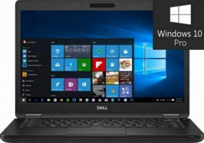 imagine 0 Laptop Dell Latitude 5490 Intel Core Kaby Lake R (8th Gen) i7-8650U 256GB SSD 8GB Win10 Pro FullHD Tast. ilum. n092l549014emea