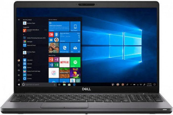 imagine 0 Laptop Dell Latitude 5501 Intel Core Coffee Lake (9th Gen) i7-9850H 512GB SSD 16GB Win10 Pro FullHD Tastatura iluminata FPR n009l550115emea