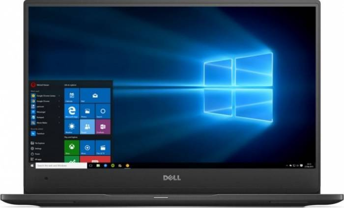 imagine 0 Laptop Dell Latitude 7370 Core M7-6Y75 256GB 8GB Win10Pro QHD+ Touch 1000022564