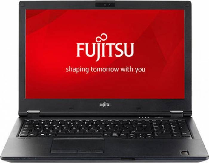imagine 0 Laptop Fujitsu Lifebook E558 Intel Core (8th Gen) i5-8250U 256GB SSD 8GB FullHD Fingerprint SmartCard Tastatura ilum. Black 2000001283