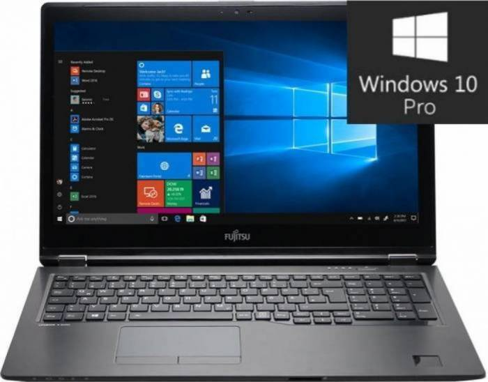 imagine 0 Laptop Fujitsu Lifebook U747 Intel Core Kaby Lake i7-7500U 512GB 8GB Win10 Pro FullHD VFY:U7470M47SBRO