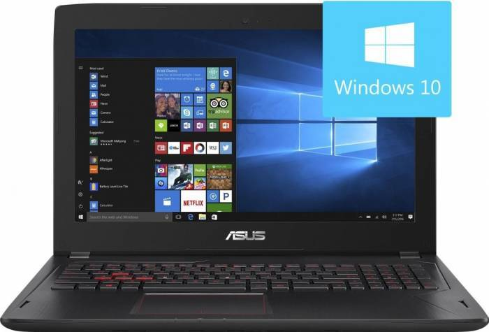 pret preturi Laptop Gaming Asus FX502VM-DM105T Intel Core Skylake i7-6700HQ 1TB 8GB Nvidia GeForce GTX 1060 3GB Win10 FullHD