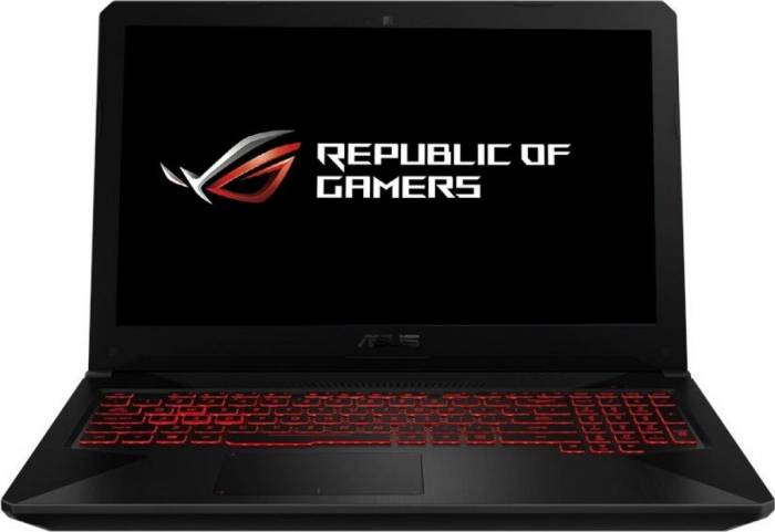 imagine 0 Laptop Gaming Asus TUF FX504GE Intel Core Coffee Lake (8th Gen) i7-8750H 1TB 8GB nVidia GeForce GTX 1050 Ti 4GB FullHD Tastatura iluminata fx504ge-e4059