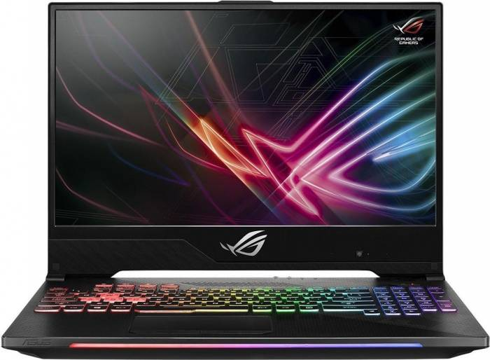 imagine 0 Laptop Gaming Asus GL504GM Intel Core Coffee Lake (8th Gen) i7-8750H 1TB 8GB nVidia GeForce GTX 1060 6GB FullHD Tastatura ilum. RGB GL504GM-ES012