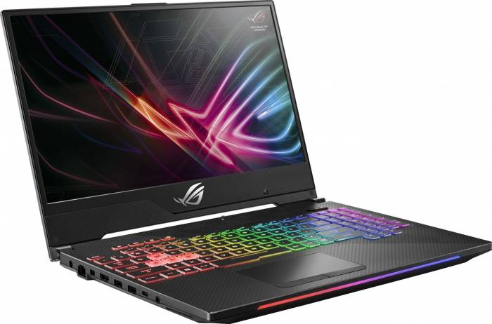 imagine 7 Laptop Gaming Asus GL504GM Intel Core Coffee Lake (8th Gen) i7-8750H 1TB 8GB nVidia GeForce GTX 1060 6GB FullHD Tastatura ilum. RGB GL504GM-ES012