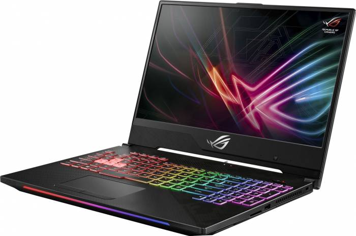 imagine 10 Laptop Gaming Asus GL504GM Intel Core Coffee Lake (8th Gen) i7-8750H 1TB 8GB nVidia GeForce GTX 1060 6GB FullHD Tastatura ilum. RGB GL504GM-ES012