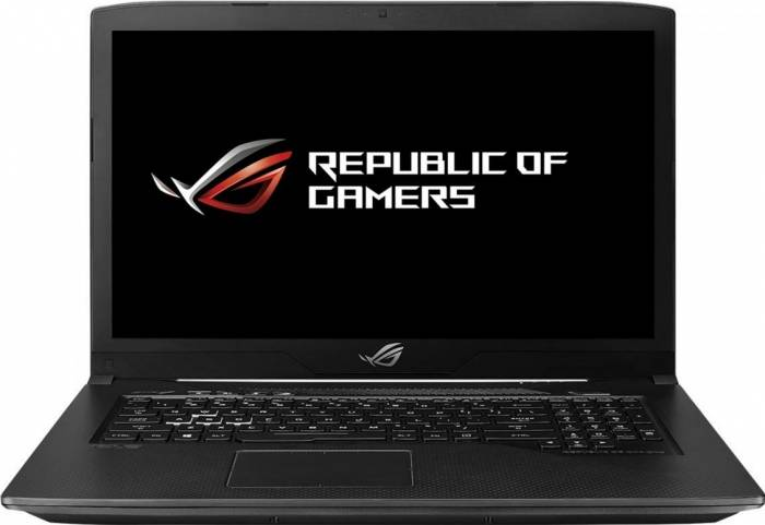 imagine 0 Laptop Gaming ASUS ROG GL703GE Intel Core Coffee Lake (8th Gen) i7-8750H 1TB HDD+128GB SSD 8GB nVidia GTX 1050 Ti 4GB GL703GE-GC007