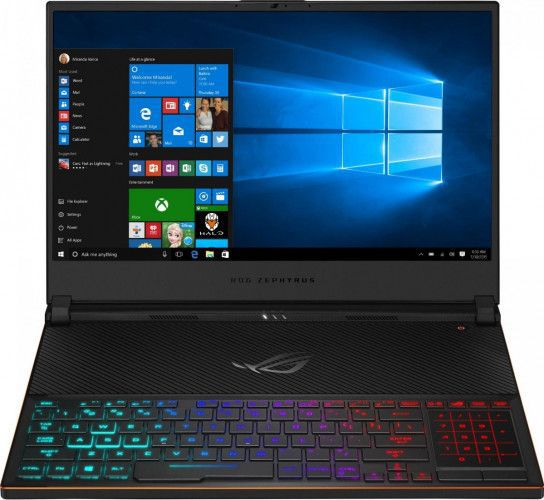 imagine 0 Laptop Gaming ASUS ROG Zephyrus S Intel Core Coffee Lake (8th Gen) i7-8750H 512GB 16GB nVidia GeForce RTX 2080 Max Q 8GB Win10 Pro FHD RGB gx531gx-es002r