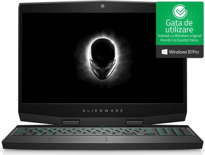 imagine 0 Laptop Gaming Dell Alienware M15 Intel Core Coffee Lake (8th Gen) i7-8750H 1TB+256GB SSD 16GB nVidia GeForce GTX 1070 8GB Win10 Pro UltraHD awm15i7162561170wp